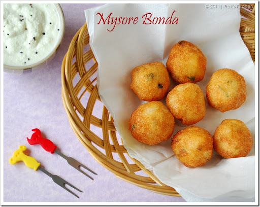 Mysore-bonda