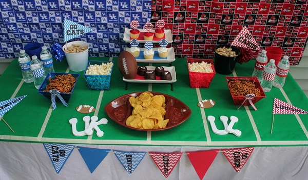 Football Rivalry Party