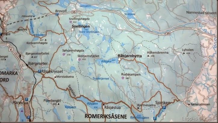 kart over romeriksåsen LAPP IS: Romeriksåsen kart over romeriksåsen