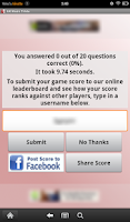 Screenshot of UK Music Trivia
