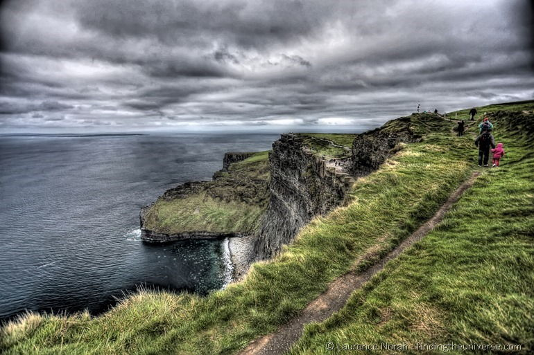 Cliffs of Moher people hdr copy