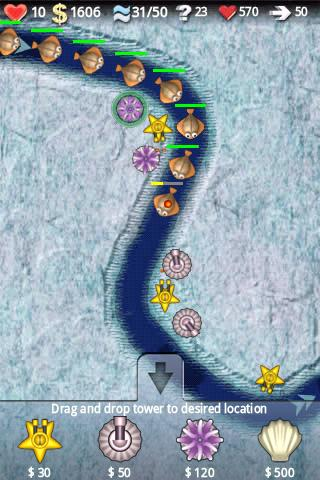 Ocean Defense Lite - screenshot