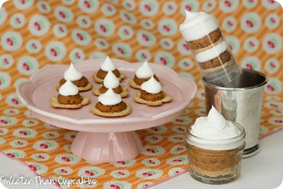 Pumpkin Pie Three Ways