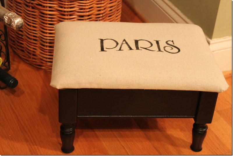 Paris Footstool 009