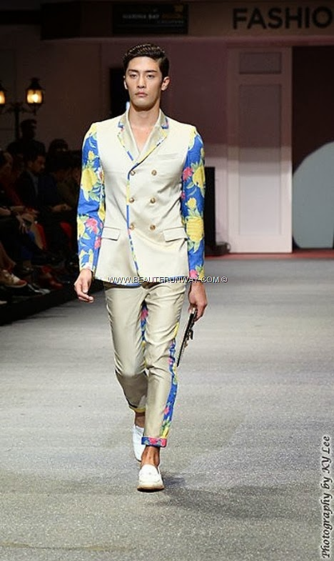 MCM Fashion Week RAIN kpop 2013 Fide Korean Singer Marina Bay Sands Store Opening Sung Hoon Actor Spring Summer 2014 Fashion Show Flower Boys In Paradise MCM Bags backpack handbag totebag clutch wallets briefcase shoes jackets blazer