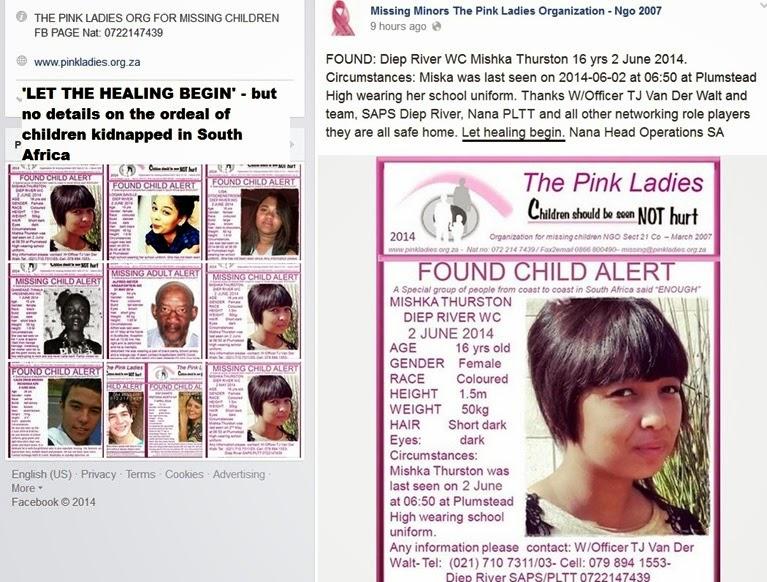 ChildKidnappersPinkLadiesPageLETTHEHEALINGBEGIN