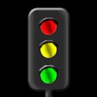 Trafficlight simulation icon