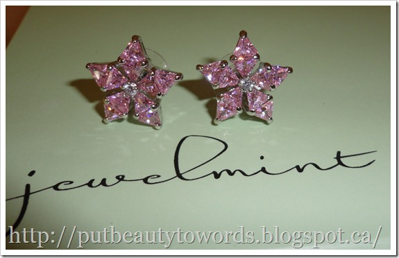 Writing Beauty: First Jewelmint Purchase: Lovely Audrey