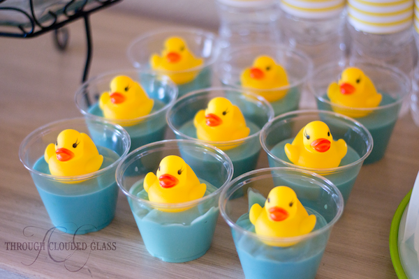 Rubber Duck Birthday Party | Through Clouded Glass