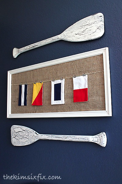Signal flags art