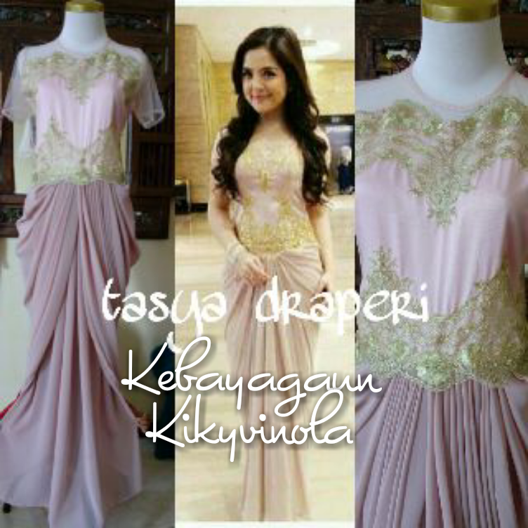 Model Kebaya Dress Panjang
