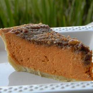 Gourmet Pumpkin Pie.