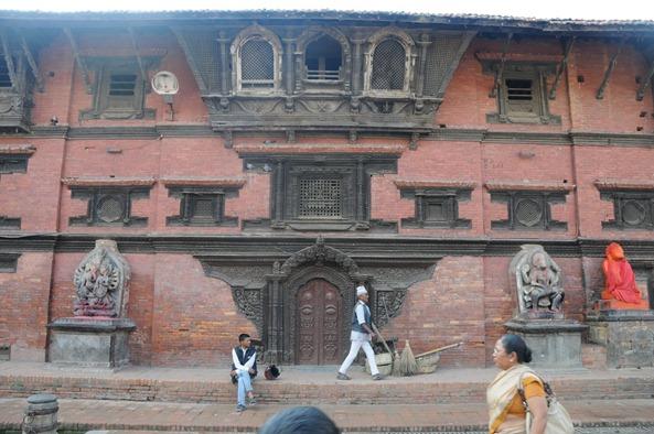 Patan Durbar Square - Ganesh and Narsingha