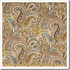 Premier prints paisley chocolate UR-358