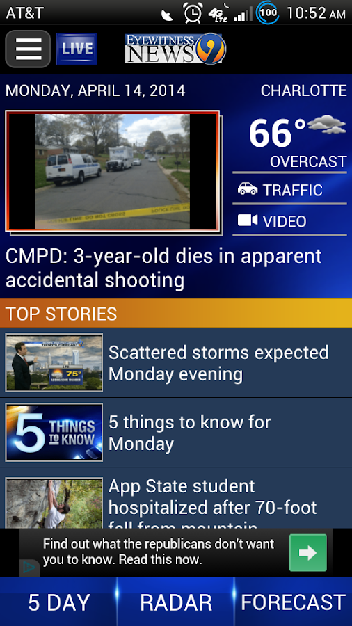 Wsoc tv channel 9 news android apps on google play Home tv channel
