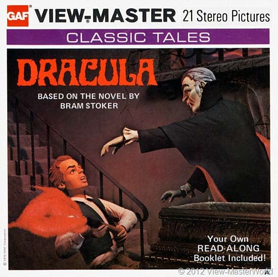 View-Master Dracula (B324), Packet Cover