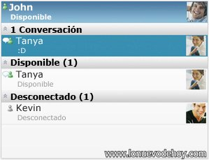 Messenger para Blackberry