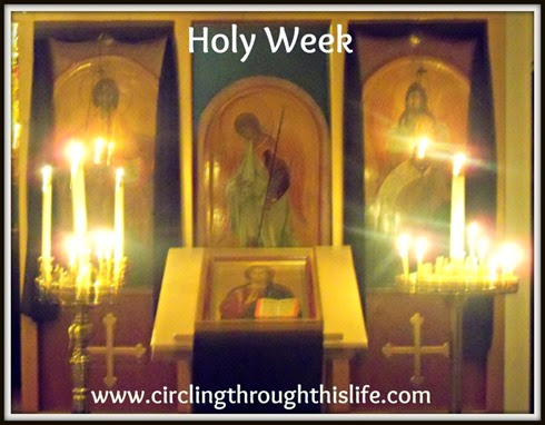 Holy Week follows Great Lent