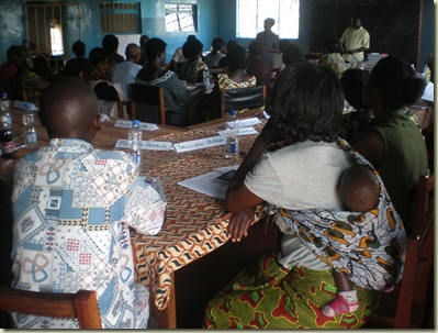 Kasama training- community family planning counselors-  they start them young