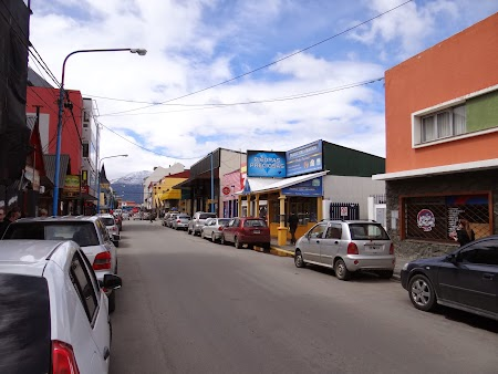 Principala strada din Ushuaia