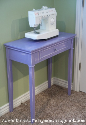 Sewing Table Makeover (9)