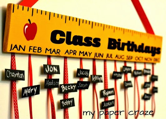 classroom birthdays