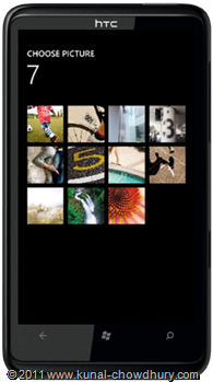 WP7.1 Demo - Photo Chooser Task - Album