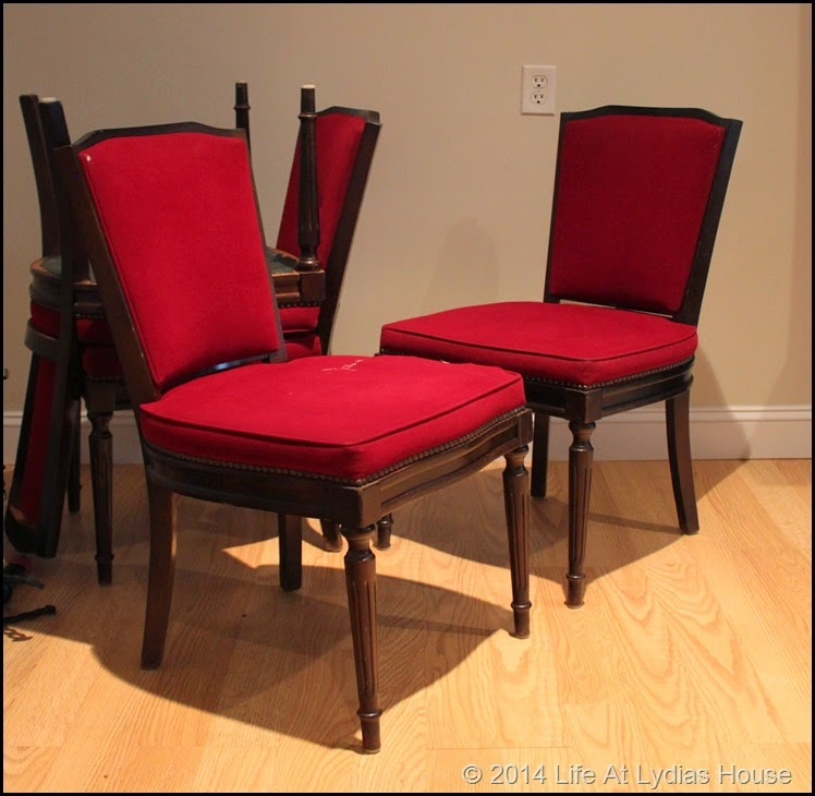 red dining chairs 1