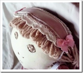 Doll Lacey Hair Accessory