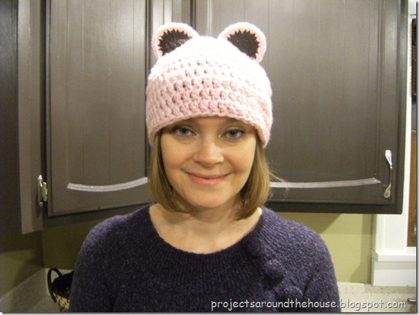 Mouse or Bear Crochet Hat Pattern