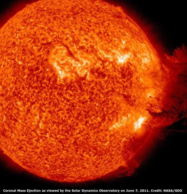 tormenta solar A
