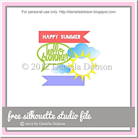 Hello Summer by Daniela Dobson