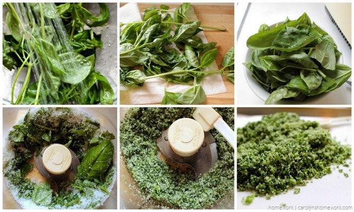 Fresh Basil Salt | homework