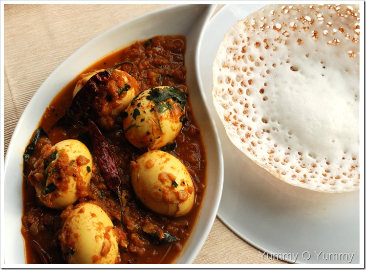 Spicy Egg Curry