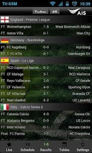 AIS Soccer Live- screenshot thumbnail
