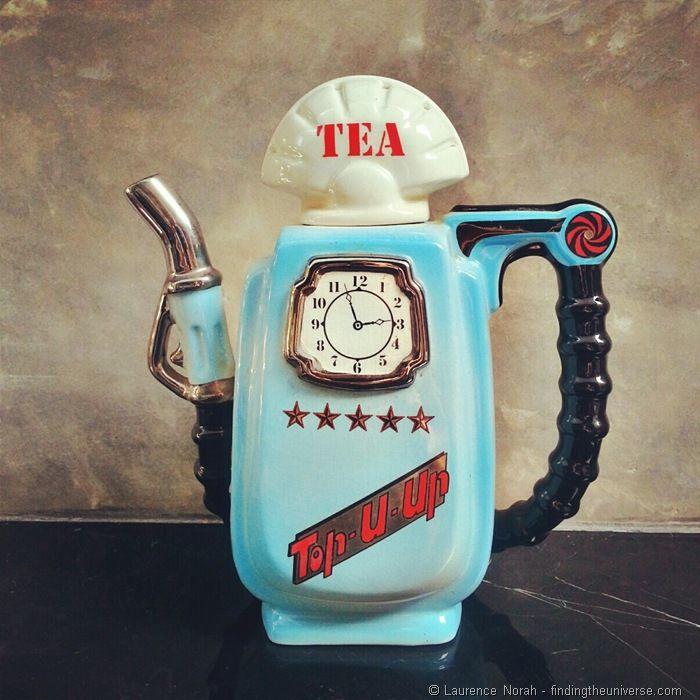 Tea. Very important in Vera's life