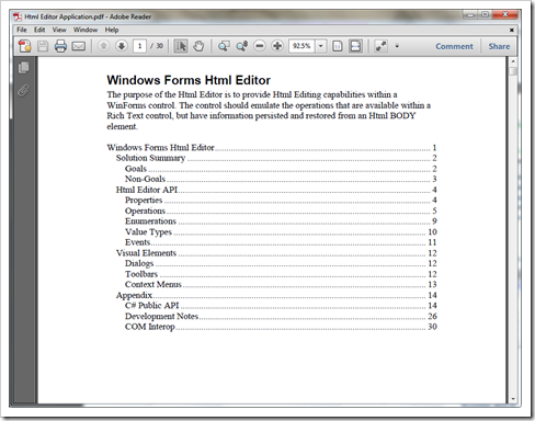 WinForm HTML Editor Control - Adding HTML editing to your