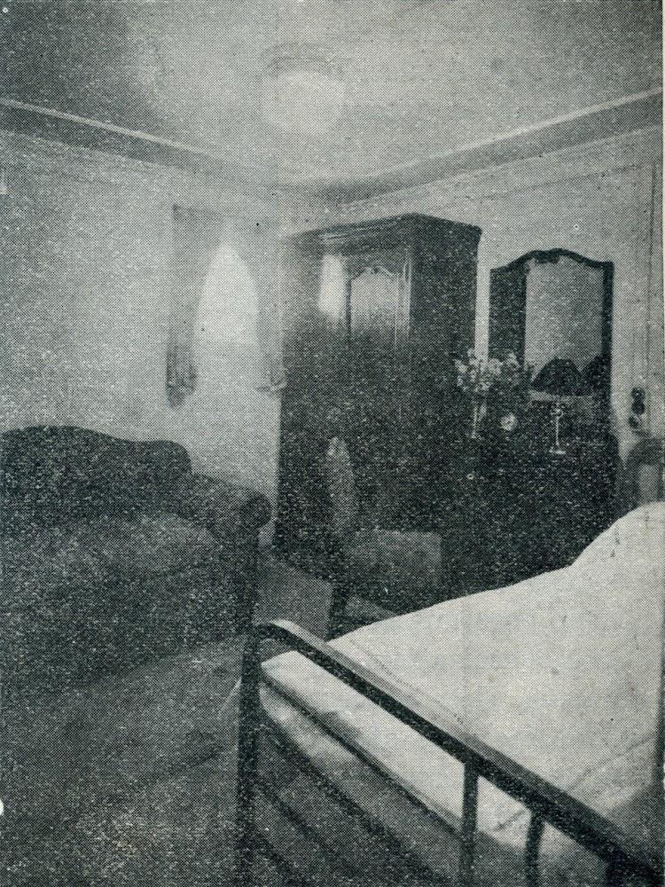Camarote individual. Foto de la revista INGENIERIA NAVAL. AÑO XI. NUM 95. Mayo 1943.jpg