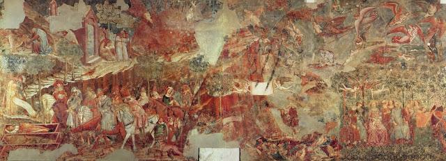 Buonamico Buffalmacco, Il triomfo della mBuonamico Buffalmacco, Il triomfo della morte, Pisa, Camposanto (font: viquipèdia)orte, Pisa, Camposanto (font: http://it.wikipedia.org/wiki/Buonamico_Buffalmacco)