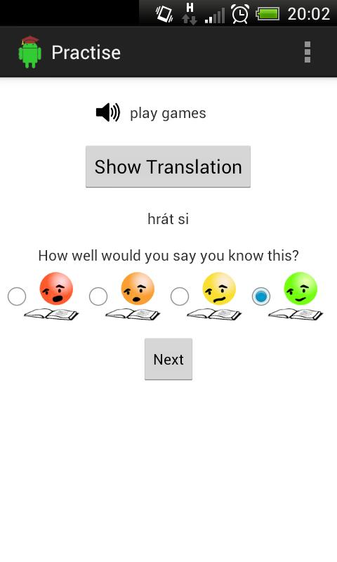VocabBrusher Free CZ - EN - screenshot