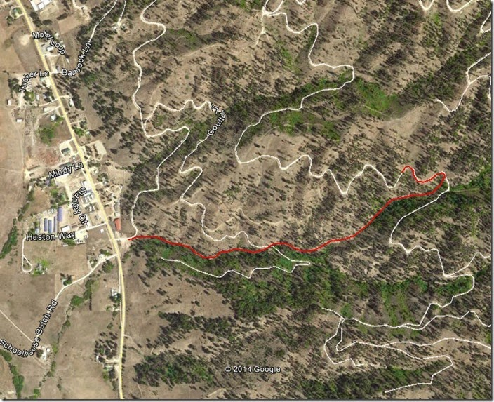 Schoolhouse Gulch Map