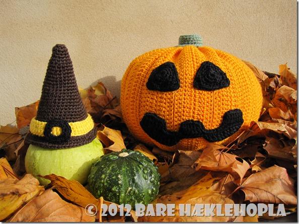 Hæklet Halloween Græskar Crochet Haloween Pumpkin 3