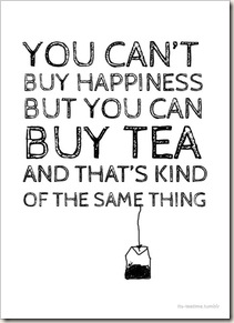you can buy tea