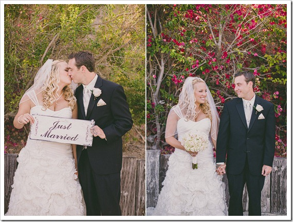 strawberry-farms-wedding-photos-blogger-boquet-white-bride-groom-together-love-just-married.sign