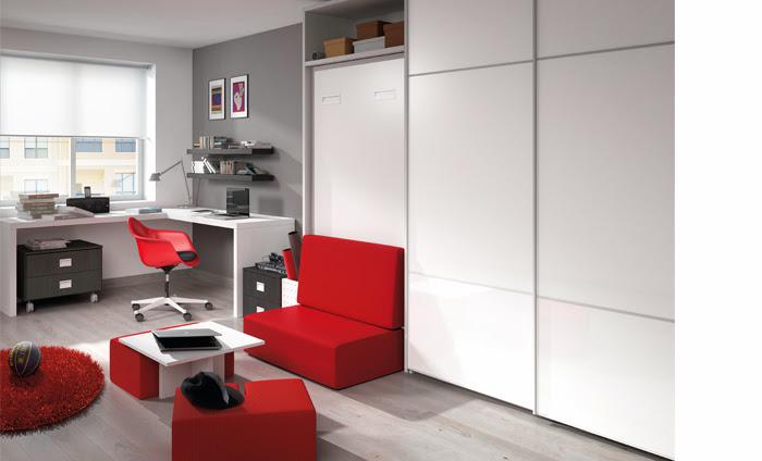 Camas plegables para dormitorios juveniles - Muebles juveniles kibuc ...