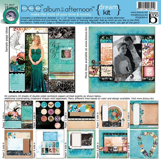Album in an Afternoon Scrapbook Kit by Suzanne Carillo