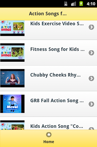 Action Kids Songs