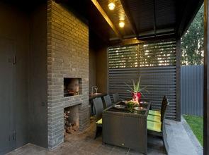 Diseño exterior terraza comedor