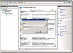 Enabling failed request tracing in IIS 7 on Windows Server 2008