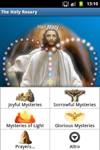 The Holy Rosary - screenshot
